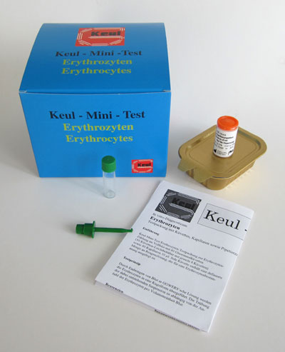 Keul-Mini-Test Erthrozyten